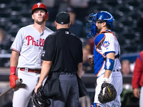 Mets/Phillies Feud ignites again (Photo: Corey Sipkin, New York Post)