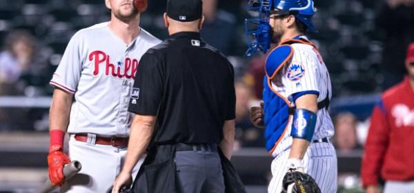 Mets/Phillies Feud ignites again (Photo: Corey Sipkin, New York Post)