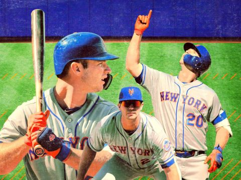 Pete Alonso, Mets Candidate, NL ROY (Photo: The Ringer)