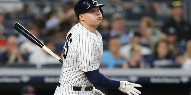 Luke Voit: There are no doubts now, is there? (Photo: Newsday.com)