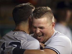 Luke Voit, Yankees Full-Time First Baseman (Photo: Bergen Record)