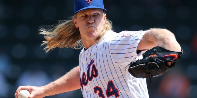 Noah Syndergaard, Starting Pitcher, New York Mets (Photo: New York Daily News)