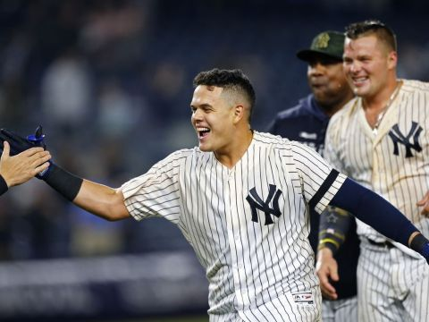 Gio Urshela, Yankees Third Base Phenom (Photo: Pinstripe Alley)