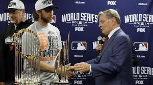 Madison Bumgarner, Walkaway Winner 2014 WS MVP (Photo: cincinnati.com)