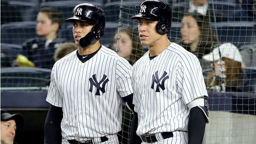 Yankees: The Return of Giancarlo Stanton and Aaron Judge (Photo: sportingnrews.com)