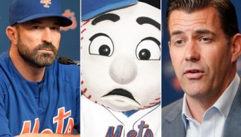 Mets Fans Caught In The Middle (Photo: New York Post)