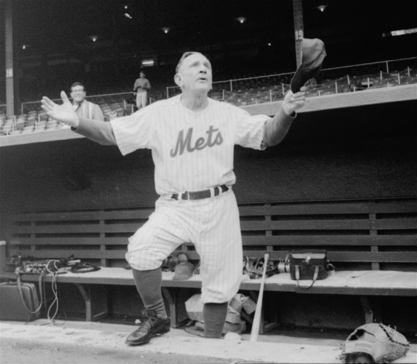 Casey Stengel, Manager of the New York Mets (1962-1965) (Photo: The Epoch Times)