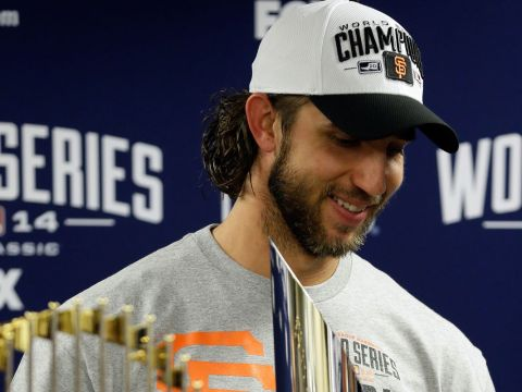 Madison Bumgarner - World Series Pedigree (Photo: Sporting News)