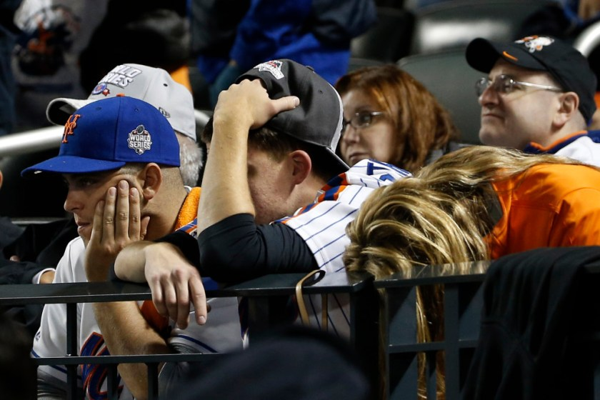 Tormented Mets Fans (Photo: New York Post)