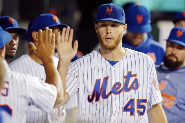 Jul 2, 2019; New York City, NY, USA; New York Mets starting pitcher <a rel=