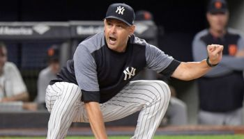 Aaron Boone, Manager of the Year Candidate (Photo: WABC-TV)