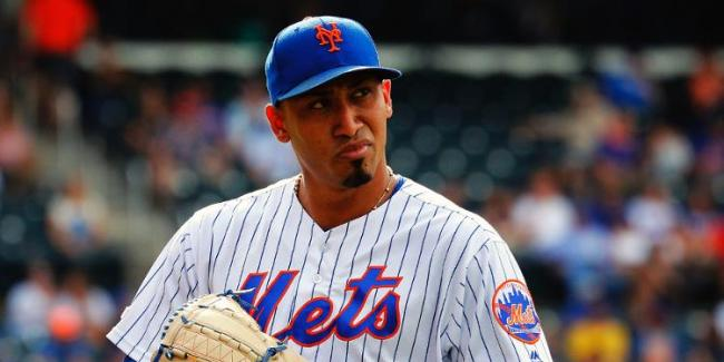 Edwin Diaz - Frustrated and Ineffective as a Met (Photo: SNY)
