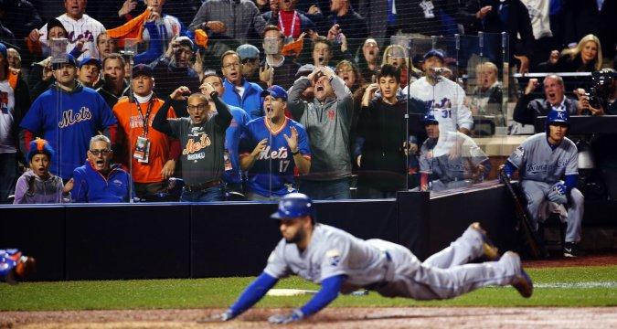 "Mets fans root theit ""Metsies"" (Photo: New York Times_"