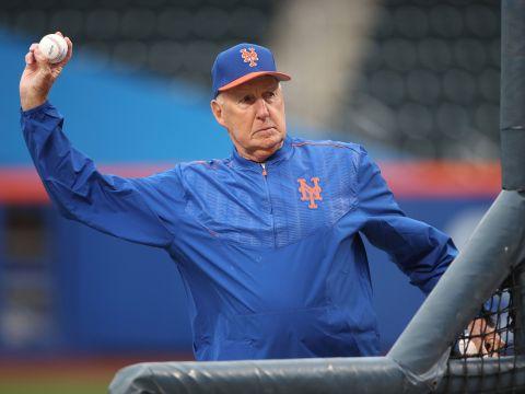 Phil Regan, Mets Pitching Coach (Photo: New York Post)
