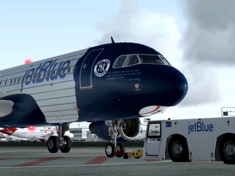 New York Yankees Road Trip Plane (Photo: YouTube)