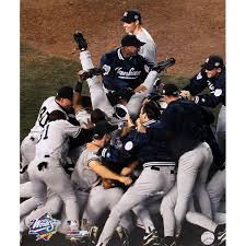 Yankees Celebrate an 11-0 Run In the Postseason 1998 (Photo: overstock.com)