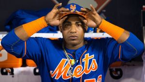 Yoenis Cespedes - Cancer On The Mets (Photo: offthebenchbaseball.com)