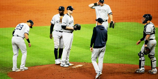James Paxton pulled from ALCS (Photo: SI.com)