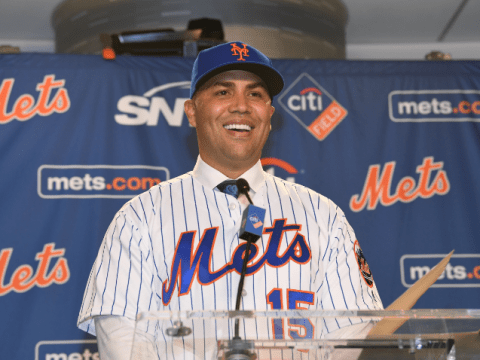 "Carlos Beltran - ""Analytics is information"" (Photo: QNS.com)"
