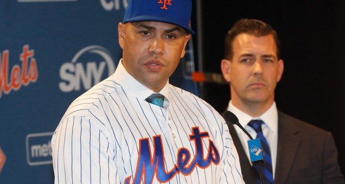 Carlos Beltran Introduced as Mets manager (Photo: New York Post)