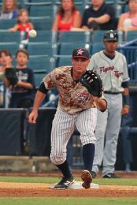 Greg Bird - New uniform - new career? (Photo: MLB.com)