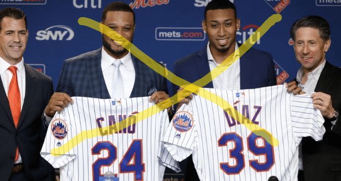 Mets GM jumps the gun 2019 (Edited Photo: Forbes)
