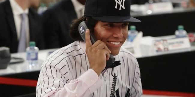 Anthony Seigler, Yankees top catching prospect (Photo: nj.com)
