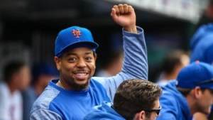 Dominic Smith - Mets best trading bait 2021? (Photo: SNY-TV)