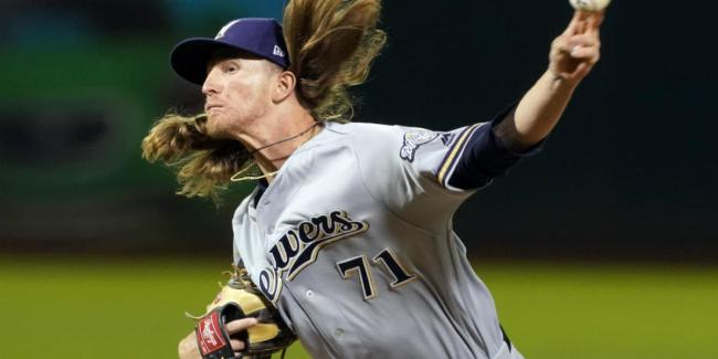 Josh Hader - Burnout on the way? (Photo: CBS Sports)