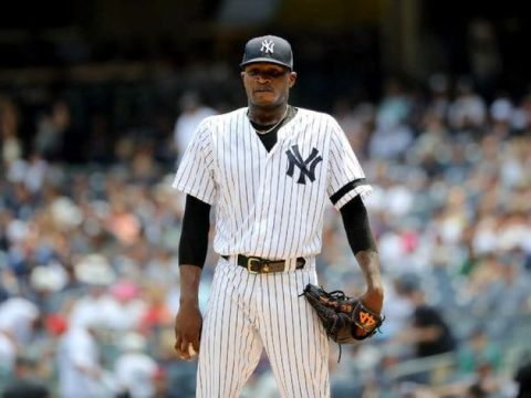"Domingo German: Small man looking ""big"" on the mound (Photo: NY Times)"