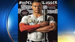 Giancarlo Stanton - too much muscle for baseball? (Photo: local10.com)