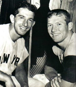 Billy Martin Mickey Mantle - who would get there first?
