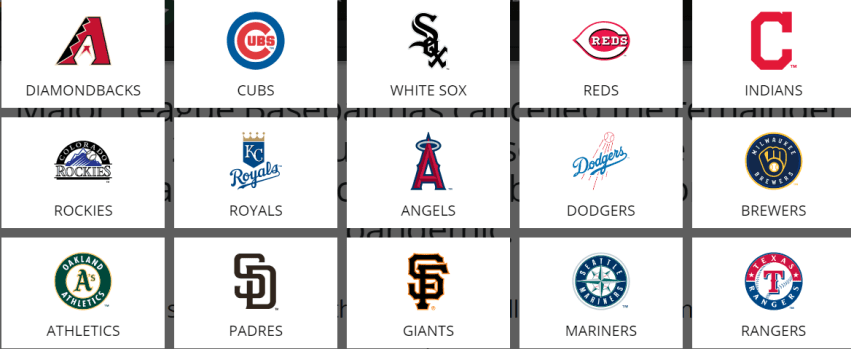 Arizona's Cactus League MLB Teams
