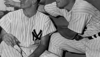 Mickey Mantle and Bob - Yankee Teammatesby Richardson