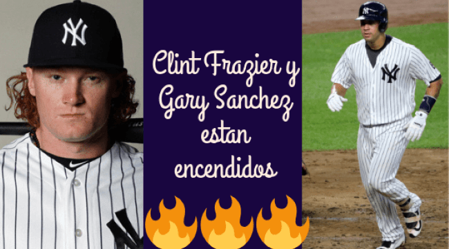 Gary Sanchez and Clint Frazier - Explosive? Not yet.
