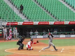 South Korea baseball - not that unfamiliar at all
