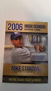 Giancarlo Stanton: Before it all began (High School, California)