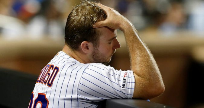 Pete Alonso feeling the anguish