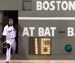 "Manny Ramirez and his version of ""fun"" during a contested game"