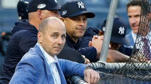 Brian Cashman: And the world turns its lonely eyes to you