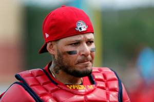 Yadier Molina - a crutch for the Yankees and Gary Sanchez to latch onto