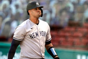 Gary Sanchez - 2021 is end of the line with Yankees (AP)