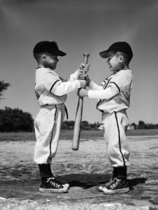 There used to be a simpler way of deciding things in baseball