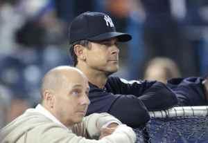 "Yankees ""Braintrust"" Brian Cashman and Aaron Boone"
