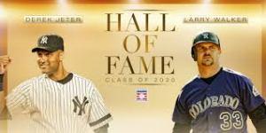 <a rel=Derek Jeter and Larry Walker MLB 2020 HOF inductees
