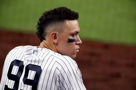 Yankees Aaron Judge - What's going on here?
