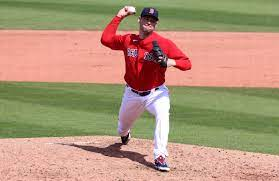 Why is <a rel=Adam Ottavino wearing a Red Sox uniform?