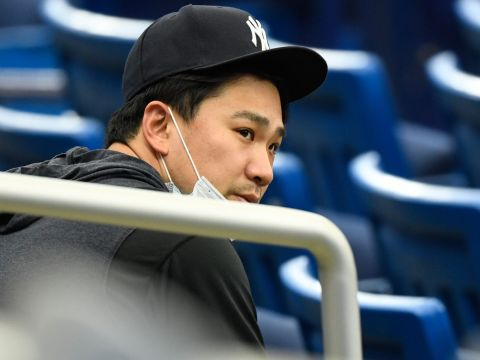 Masahiro Tanaka, Former Yankees Starter (Douglas DeFelice-USA TODAY Sports)