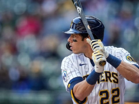 Christian Yelich, MLB's Poster Boy for injured players 2021 (Getty)