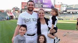 Former Met Daniel Murphy and Family